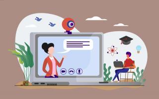 Українська гімназія № 1 у режимі онлайн